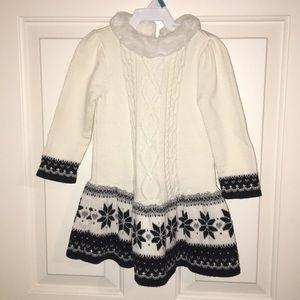 EUC - Toddler sweater dress 2T